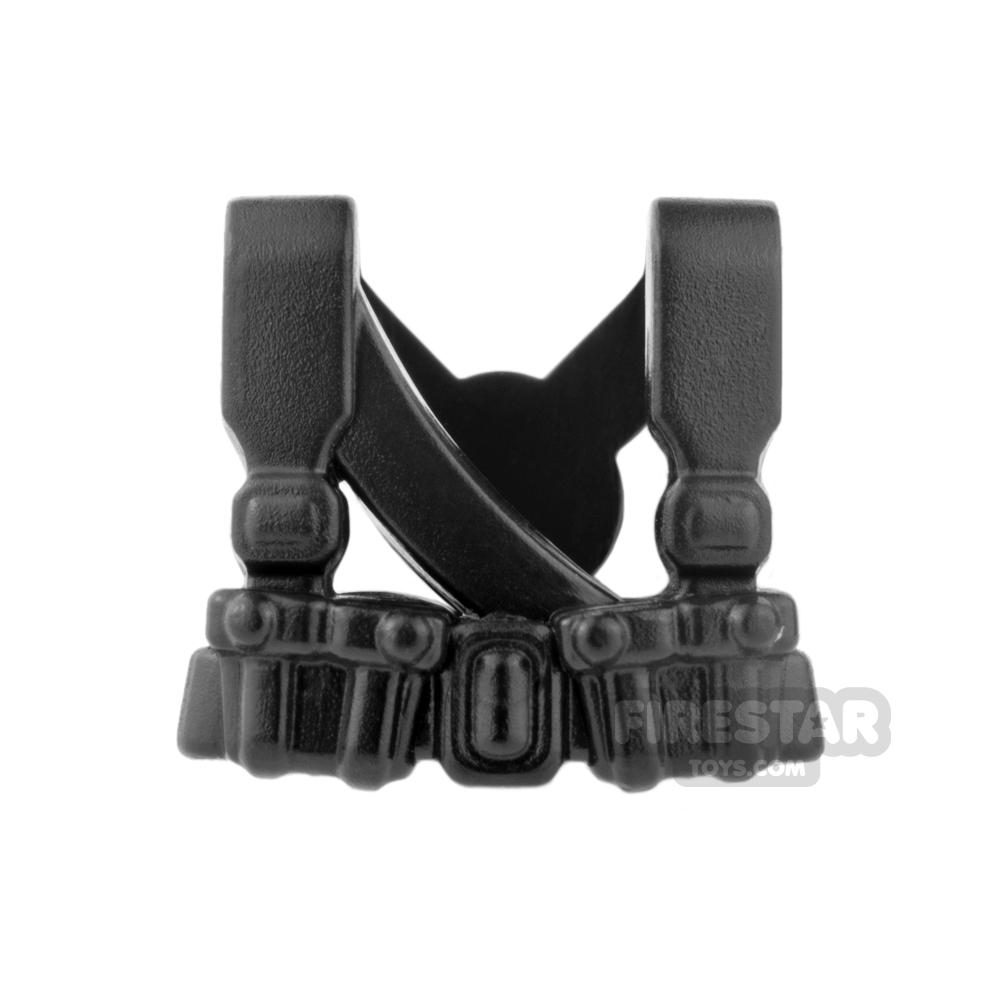 BrickWarriors - Soviet Suspenders - Black