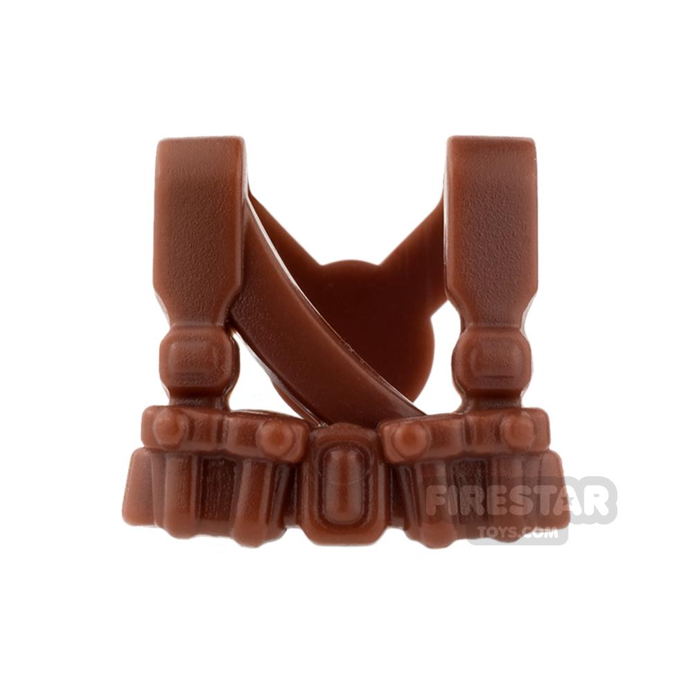BrickWarriors - Soviet Suspenders - Brown