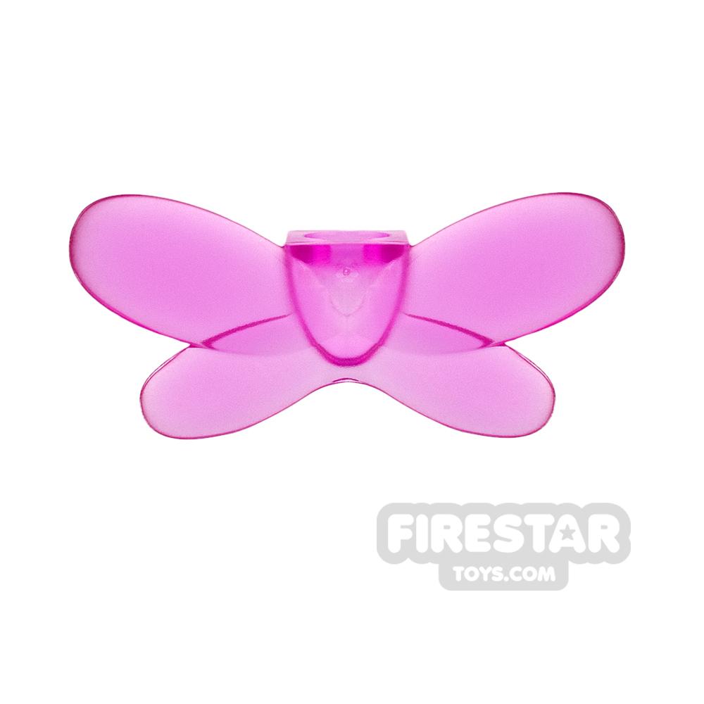 LEGO - Fairy Wings - Trans Dark Pink