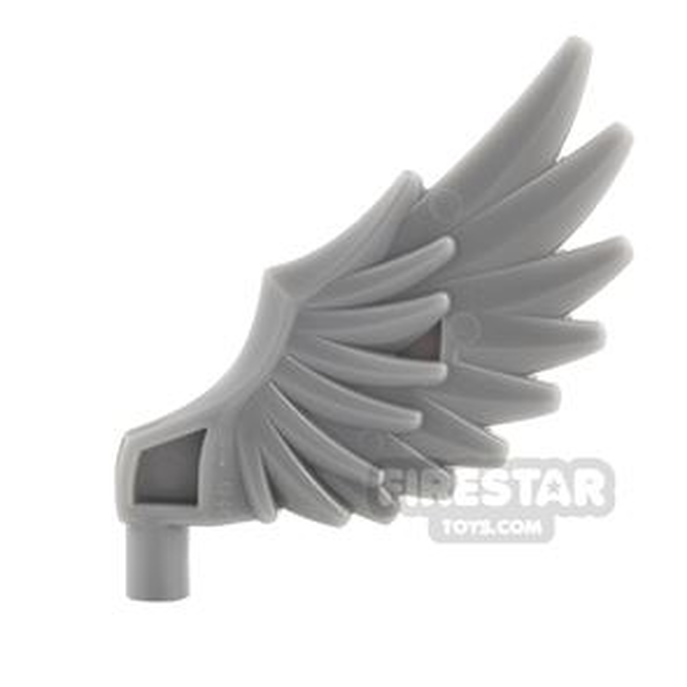 LEGO - Feathered Wing - Dark Blueish Gray