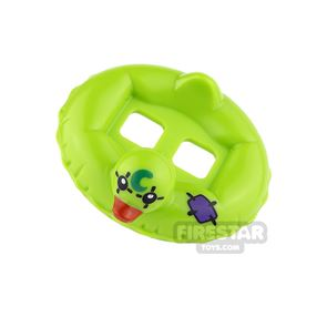 LEGO Duck Rubber Ring with Joker Mask