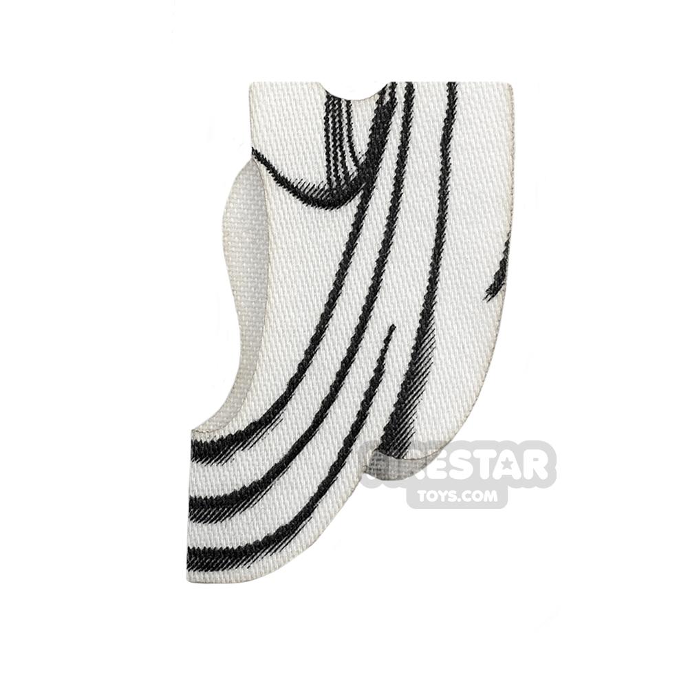 Custom Design Cape - Toga - White