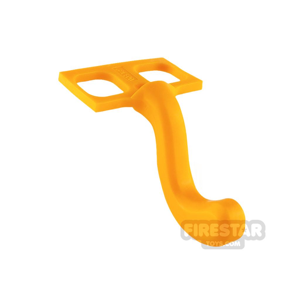 LEGO - Cat Tail - Bright Light Orange