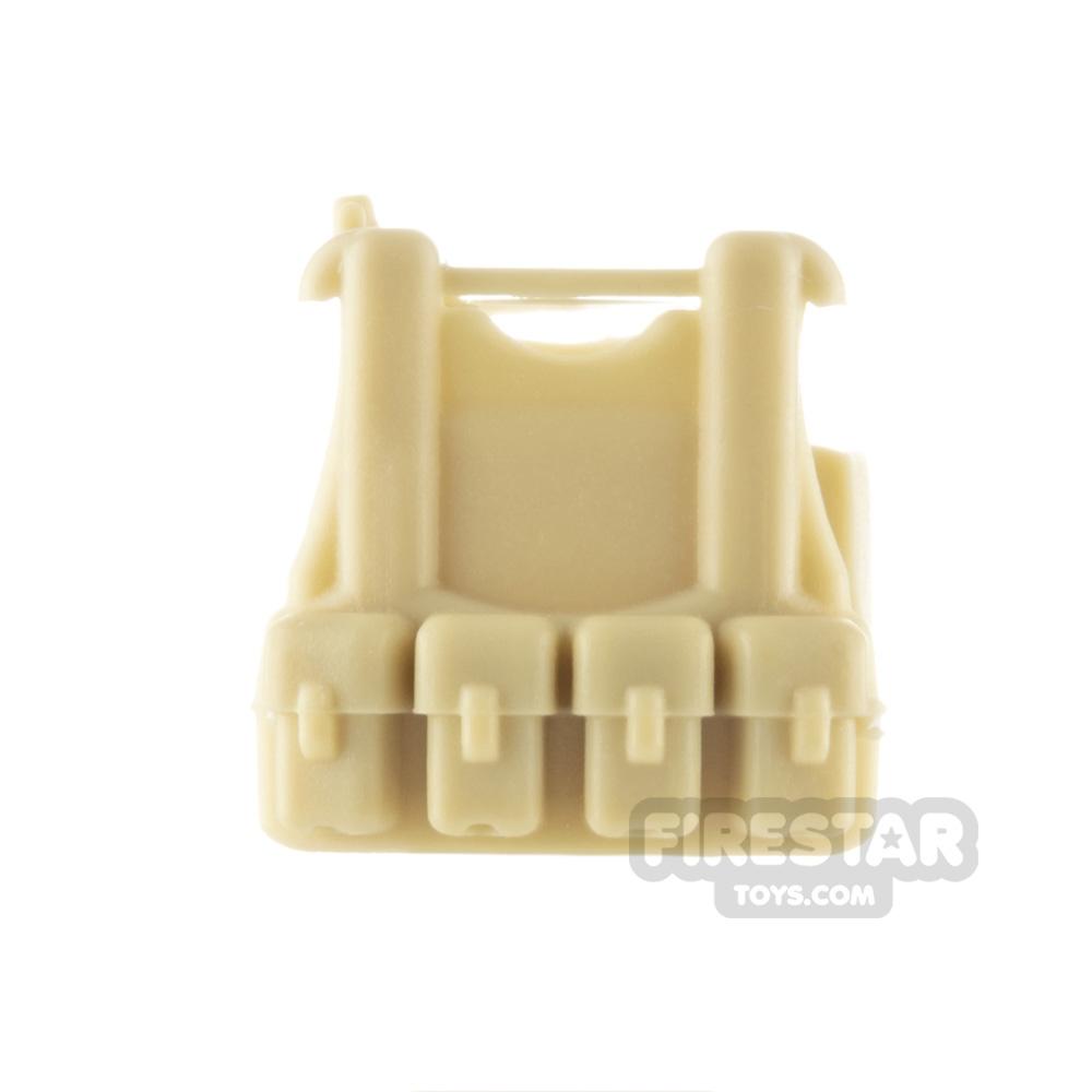 SI-DAN - B12 Tactical Vest - Tan