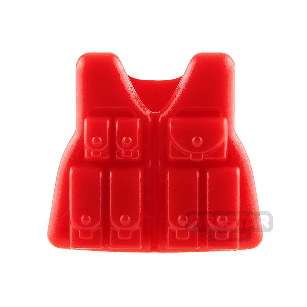 Brickarms - LCV-Rifleman Tactical Vest - Red