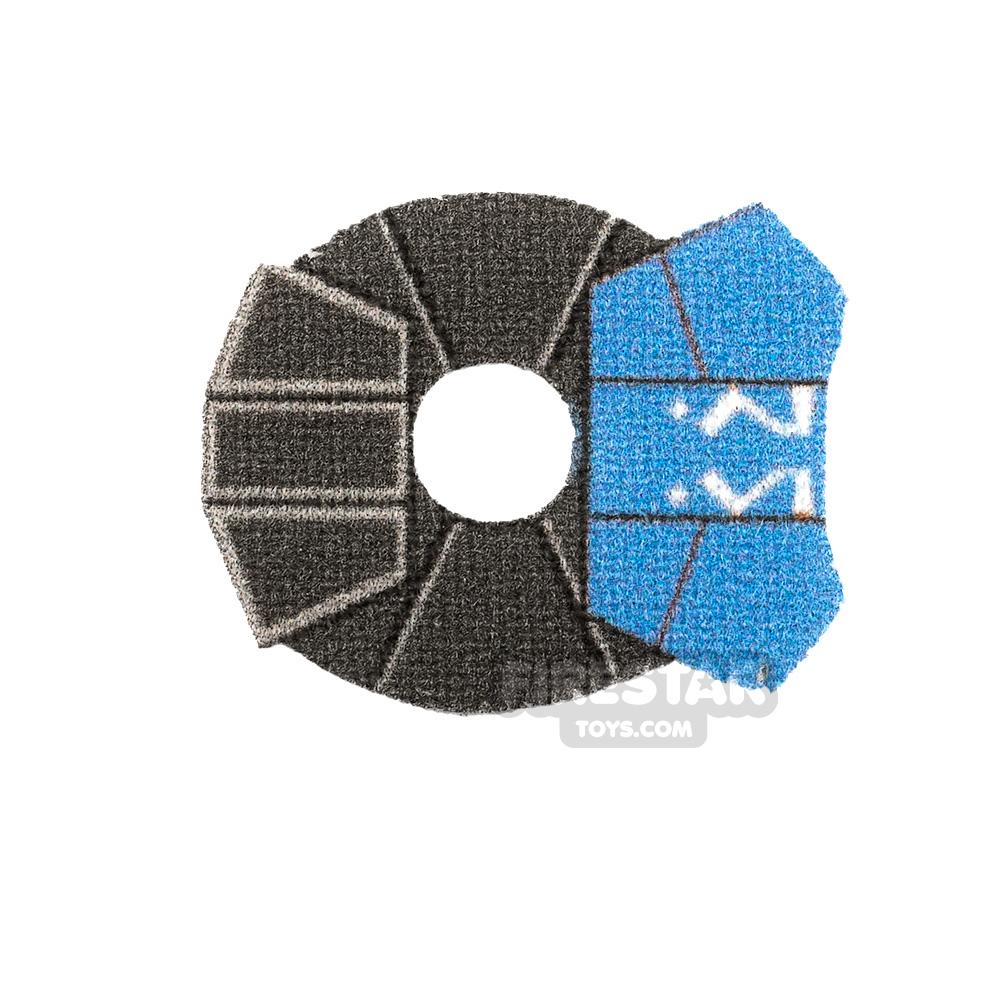 Custom Design Pauldron Ahsoka 332nd Sand Blue