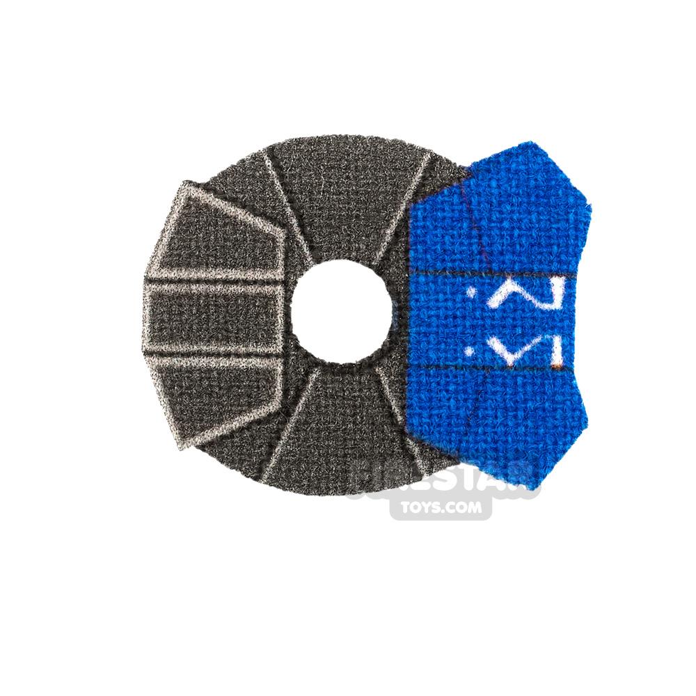 Custom Design Pauldron Ahsoka 332nd Blue
