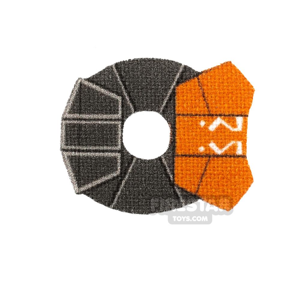 Custom Design Pauldron Ahsoka 332nd Orange