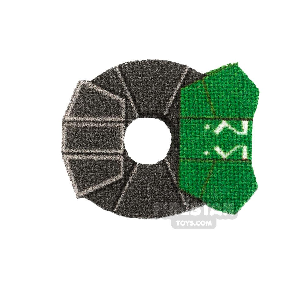 Custom Design Pauldron Ahsoka 332nd Green
