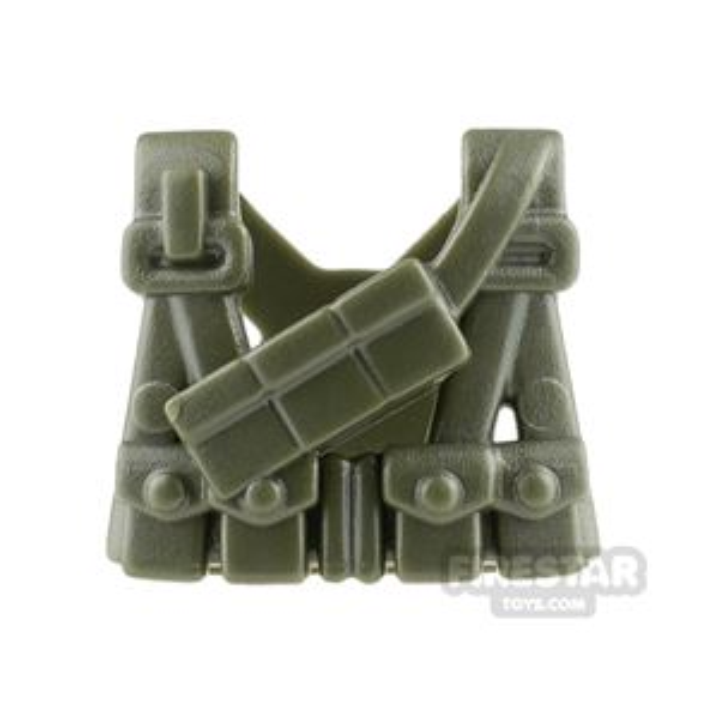 BrickWarriors US Gunner Suspenders