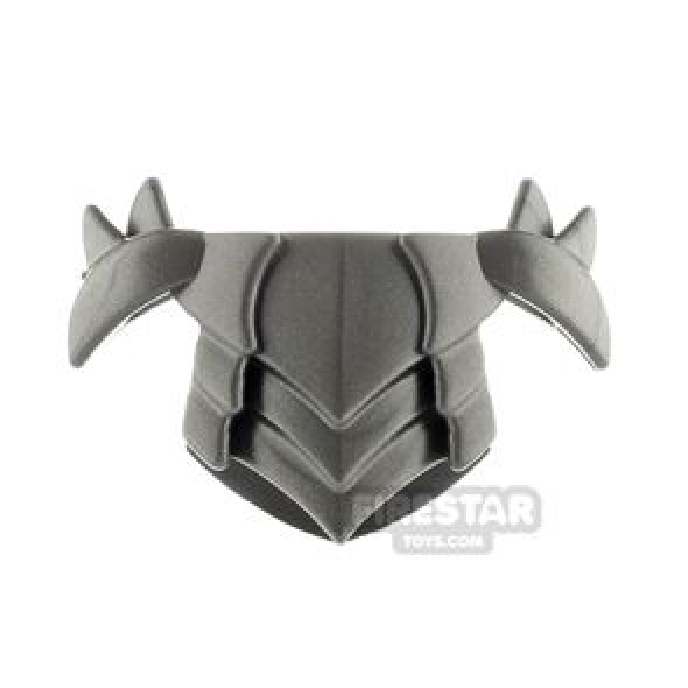 BrickWarriors - Horned Plate Armour - Steel