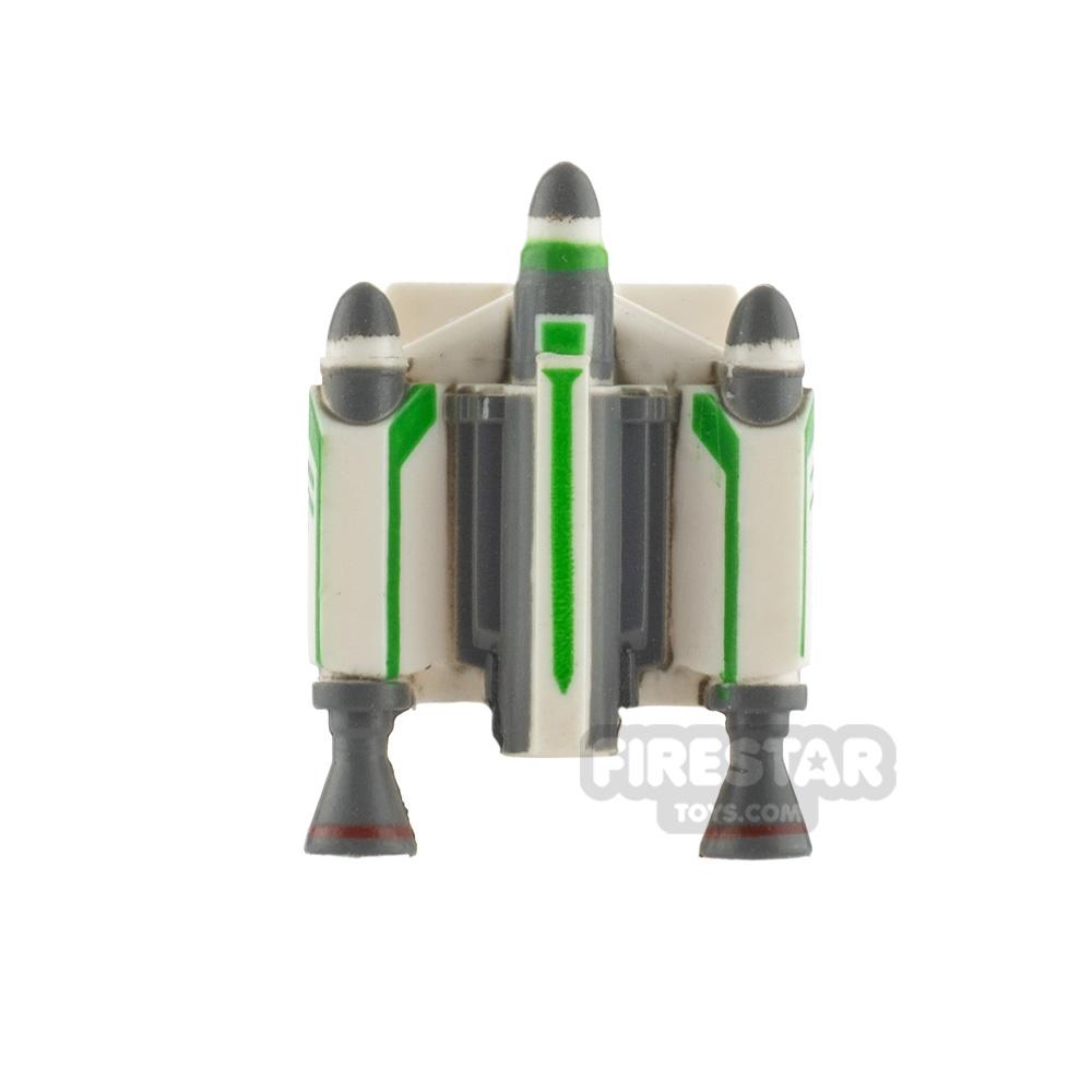 Clone Army Customs Trooper Jet Pack Green Trooper