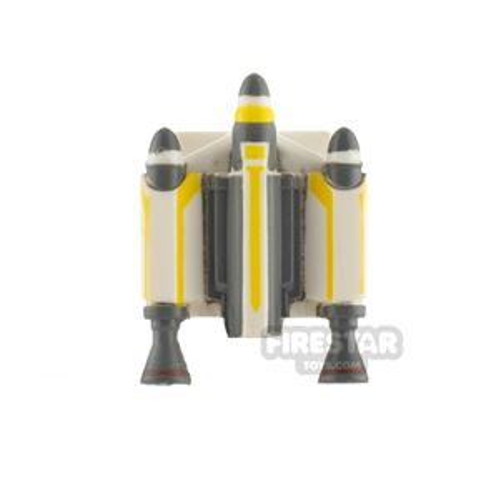 Clone Army Customs Trooper Jet Pack Yellow Trooper