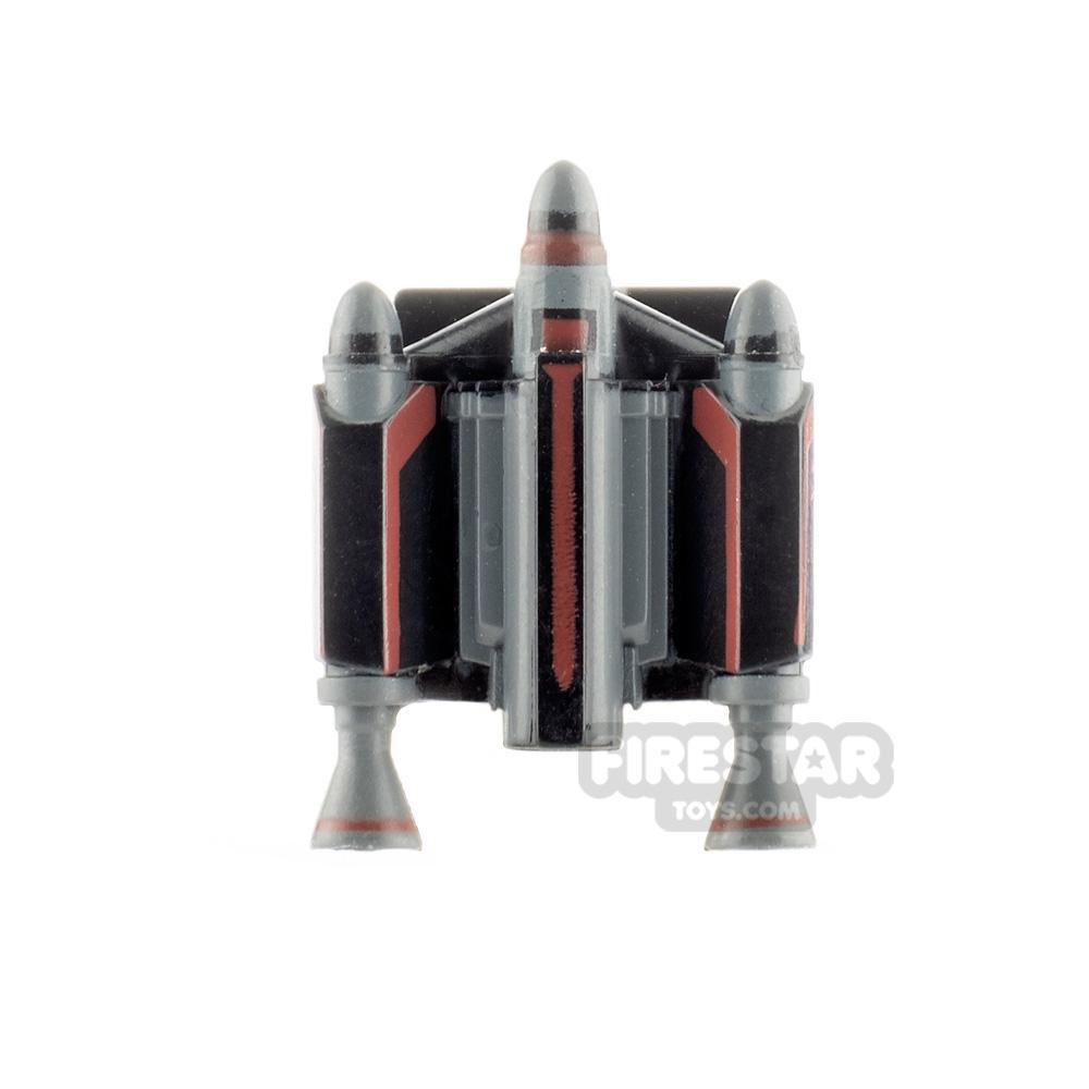 Clone Army Customs Trooper Jet Pack Mawl Black