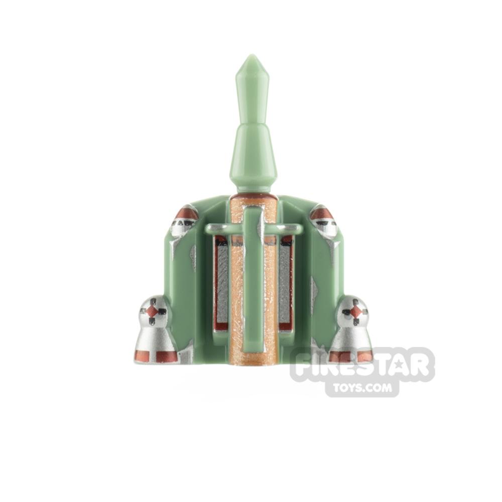 Arealight Boba Rocket Jet Pack Sand Green Rocket