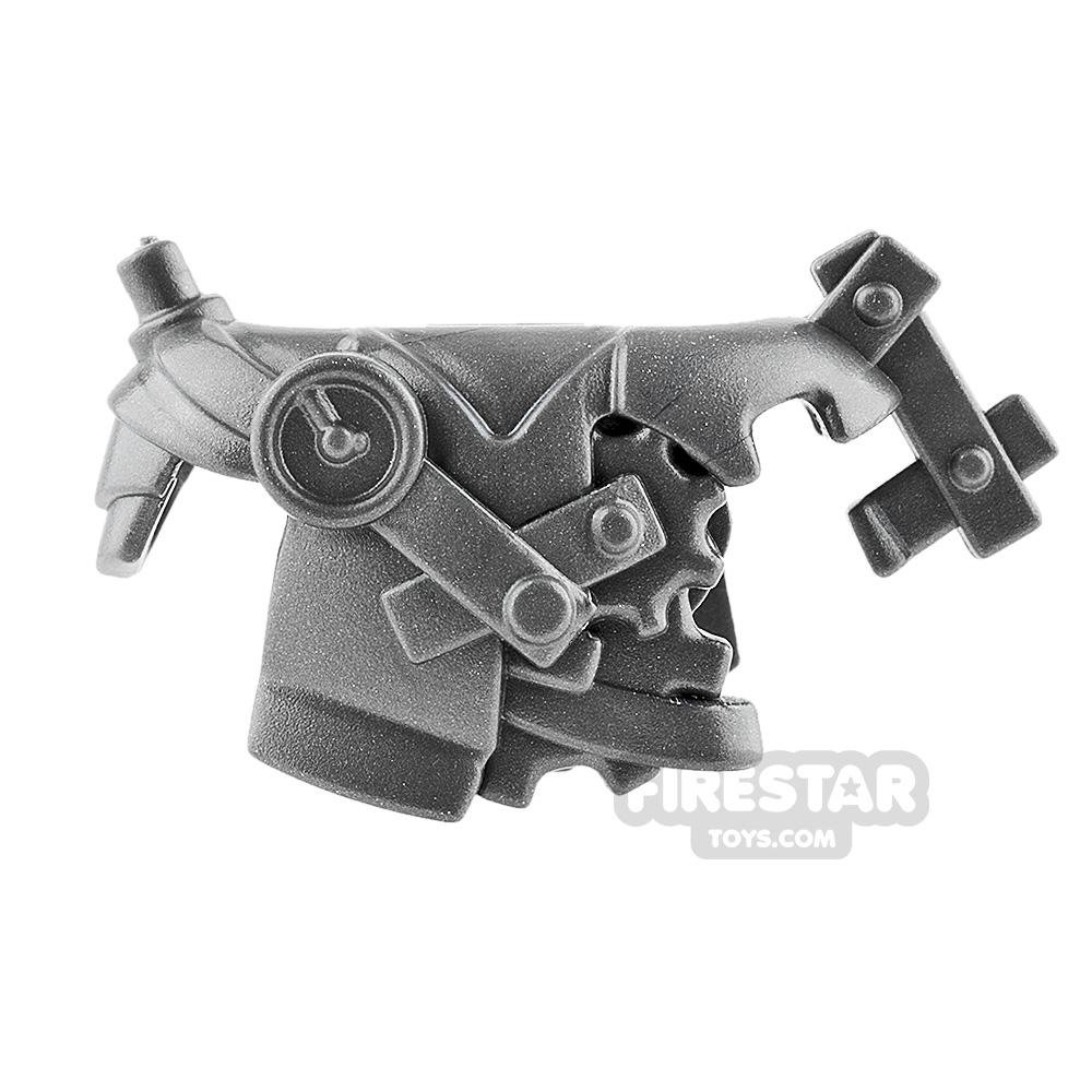 BrickWarriors - Steampunk Armour - Steel