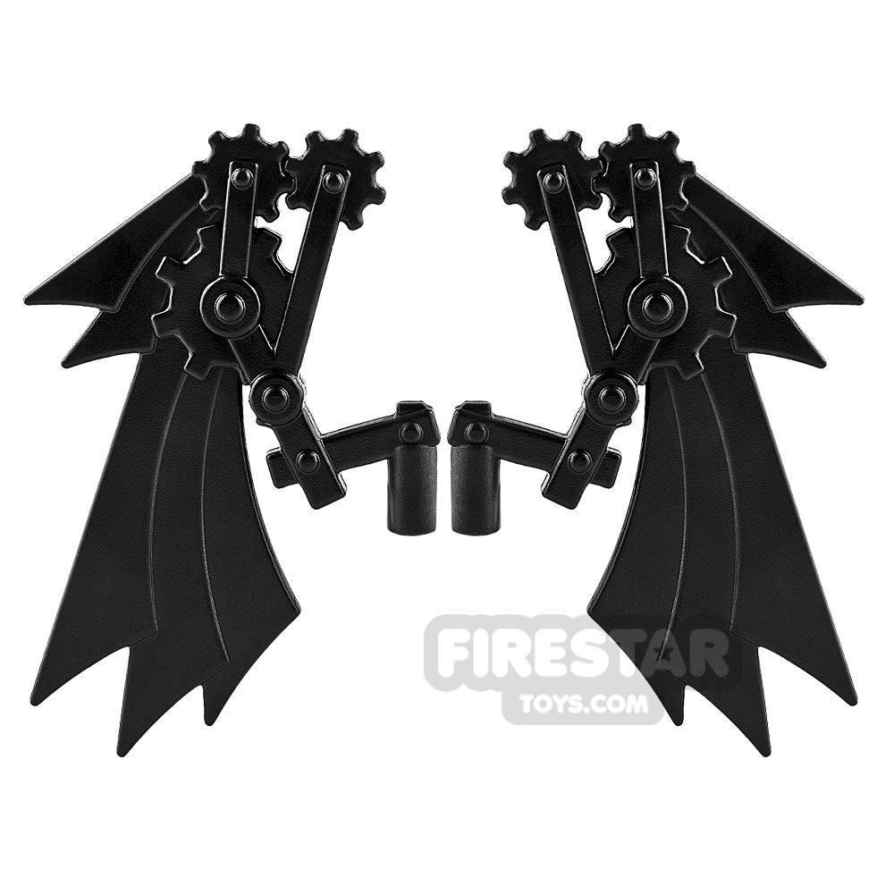 BrickWarriors - Steampunk Wings - Black