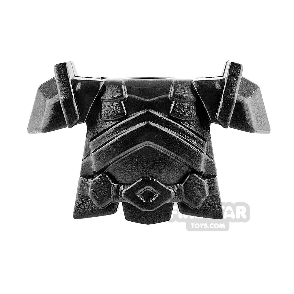 BrickWarriors - Dwarf Armour - Black