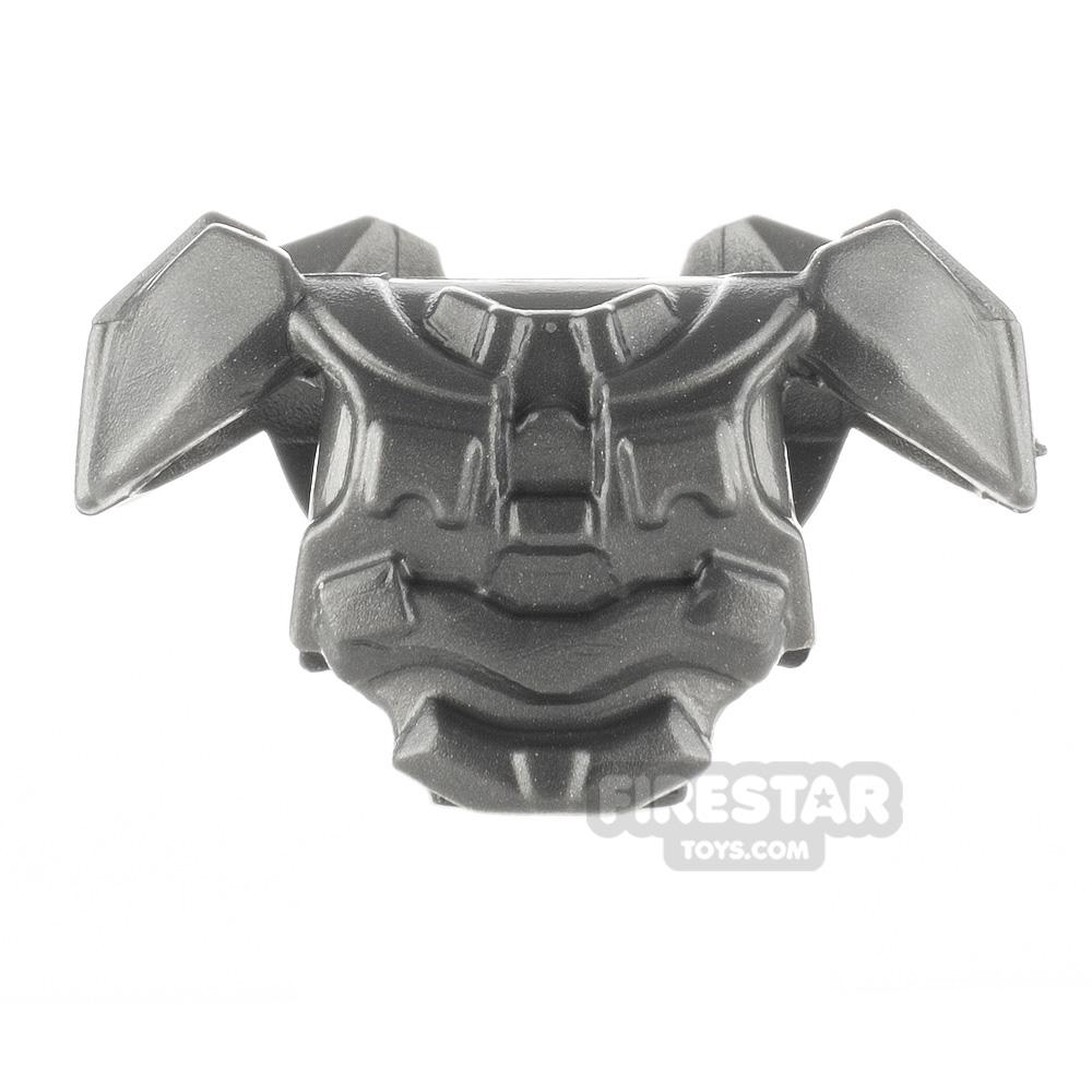 BrickWarriors - Galaxy Enforcer Armour - Steel