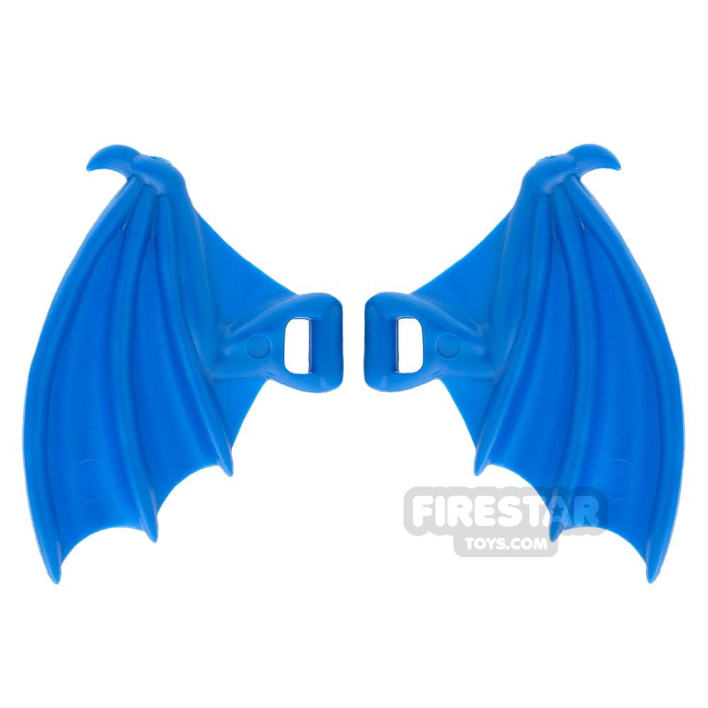 BrickWarriors - Dragon Wings - Blue