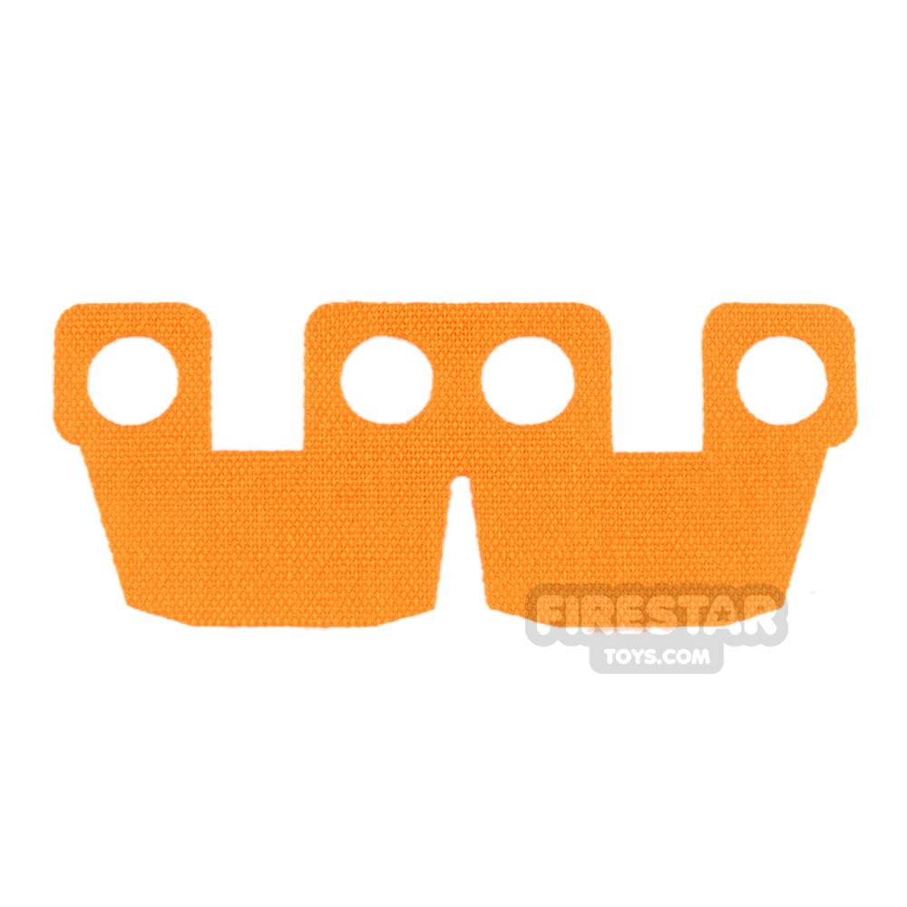 Custom Design Cape - Armour Waistcape - Light Orange