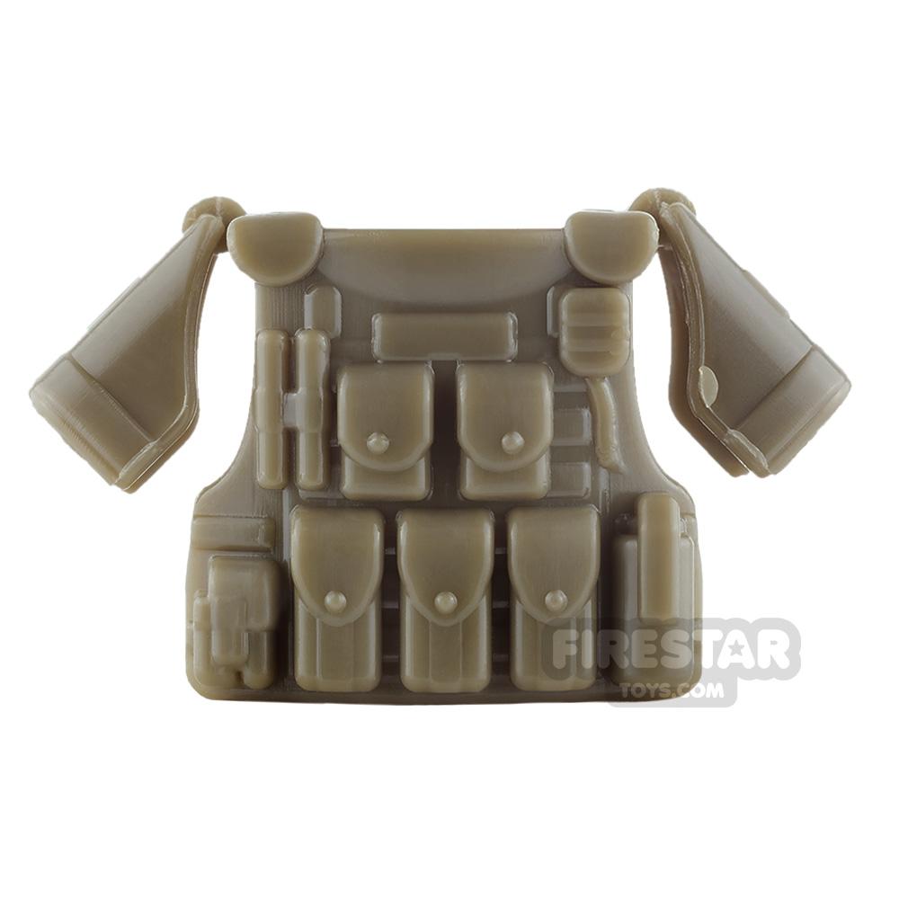 SI-DAN - BR1 Tactical Vest - Bronze