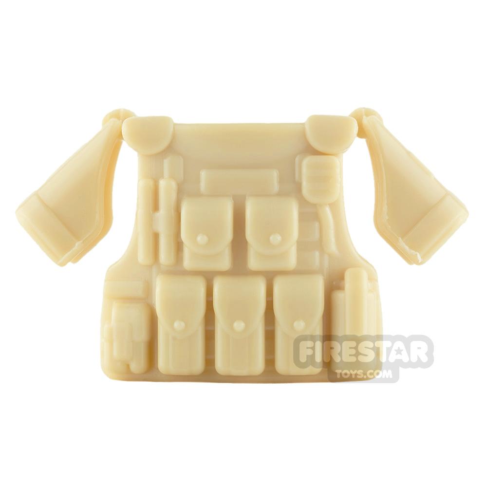 SI-DAN - BR1 Tactical Vest - Tan
