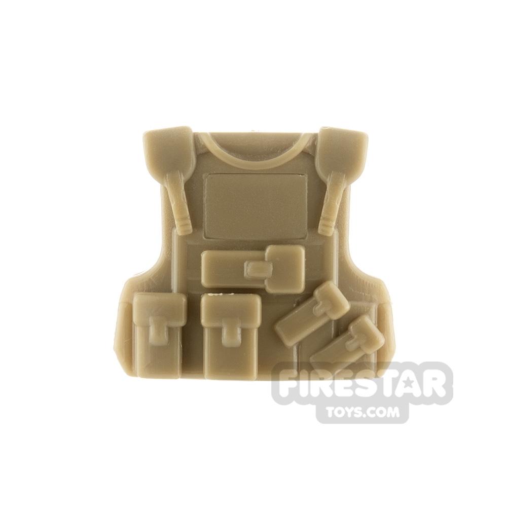 SI-DAN - B20 Tactical Vest - Dark Tan