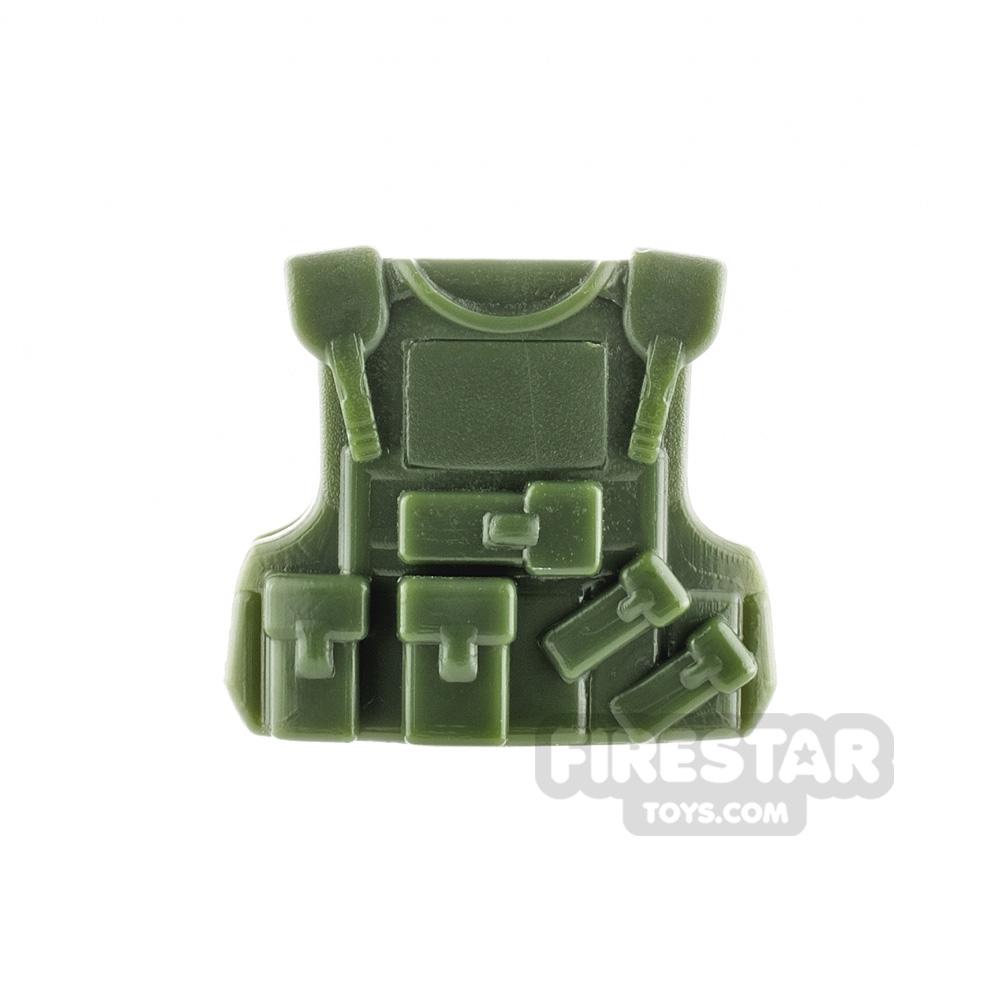 SI-DAN - B20 Tactical Vest - Tank Green