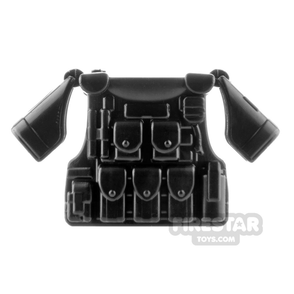 SI-DAN - BR1 Tactical Vest - Black