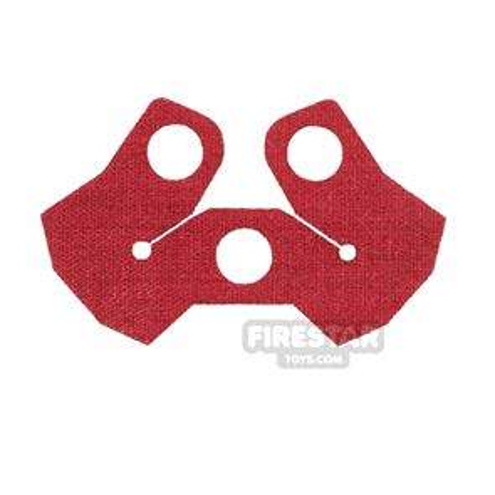 Custom Design - Shoulder Armour - Dark Red