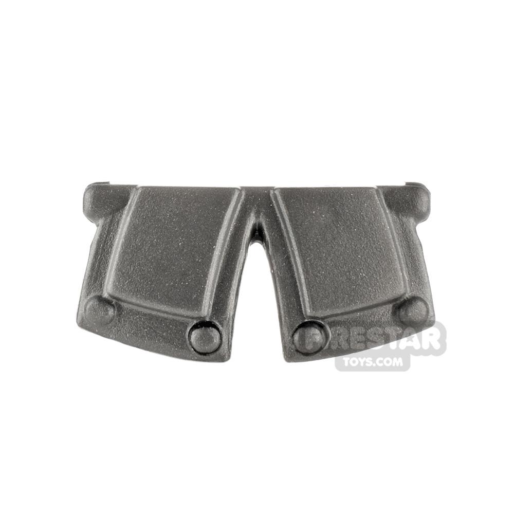 BrickWarriors - City Watch Tassets - Steel