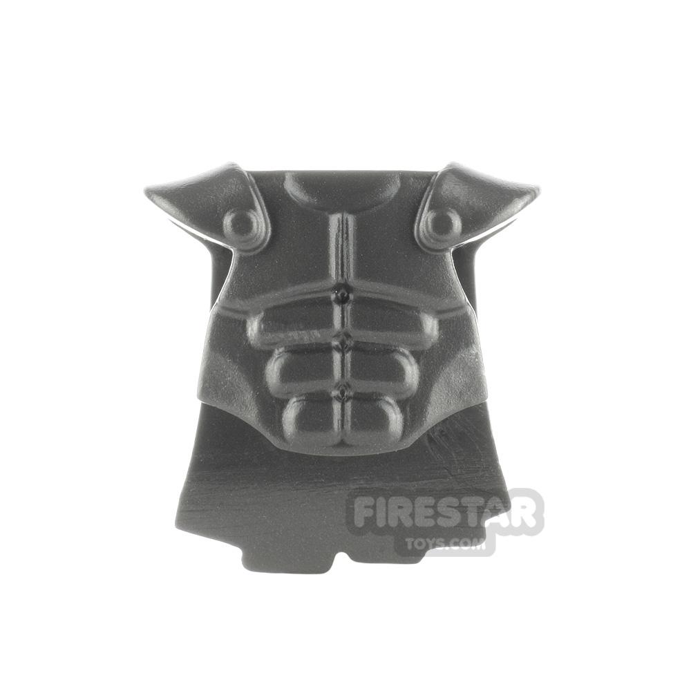 BrickWarriors - Muscled Cuirass - Steel