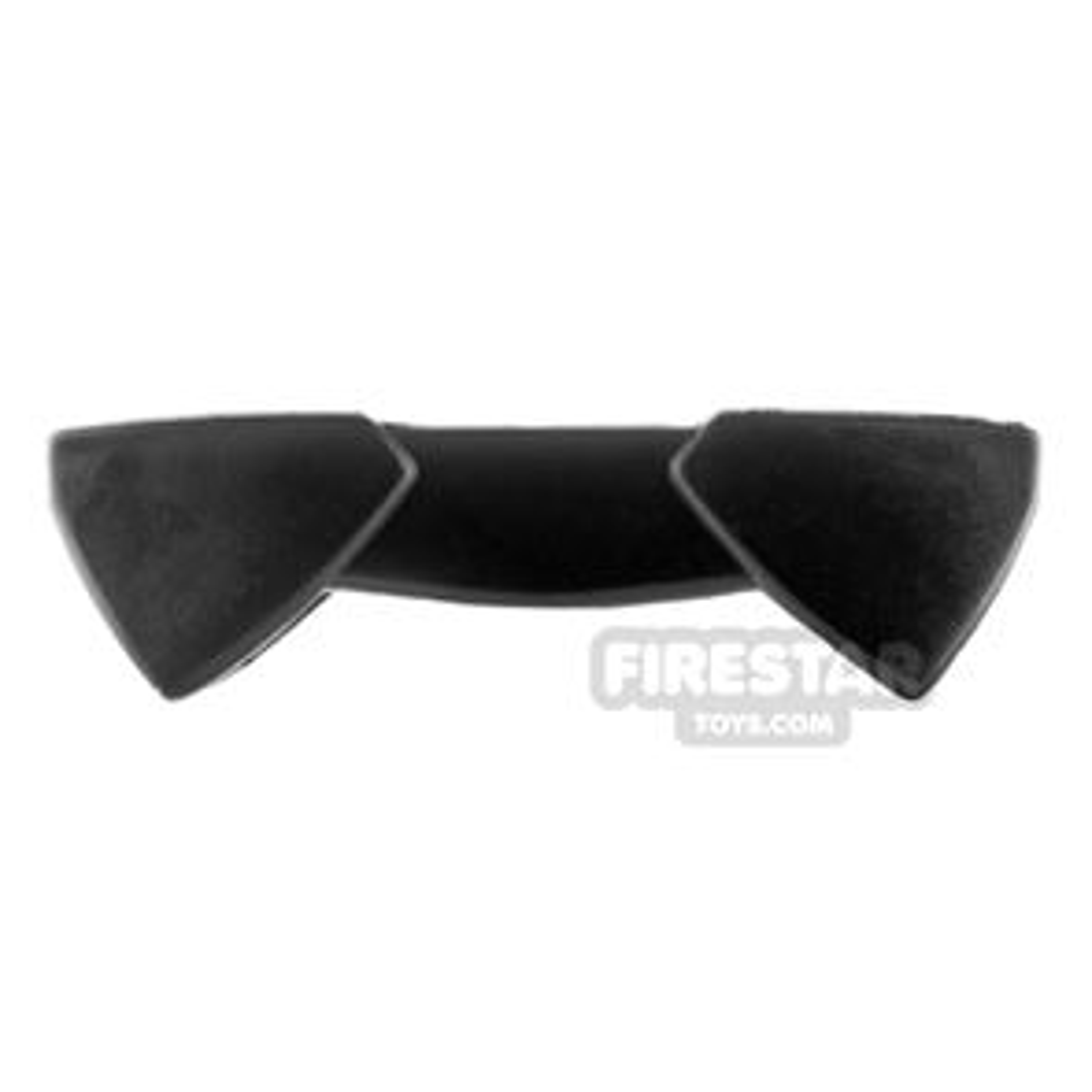 Arealight - Two Sided Pauldron - Black Flexible Plastic