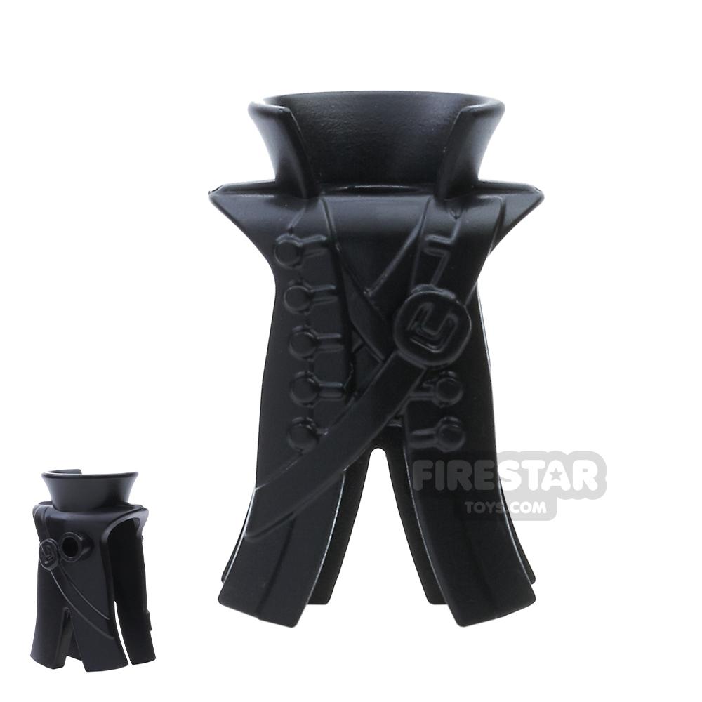 BrickWarriors - Pirate Coat - Black