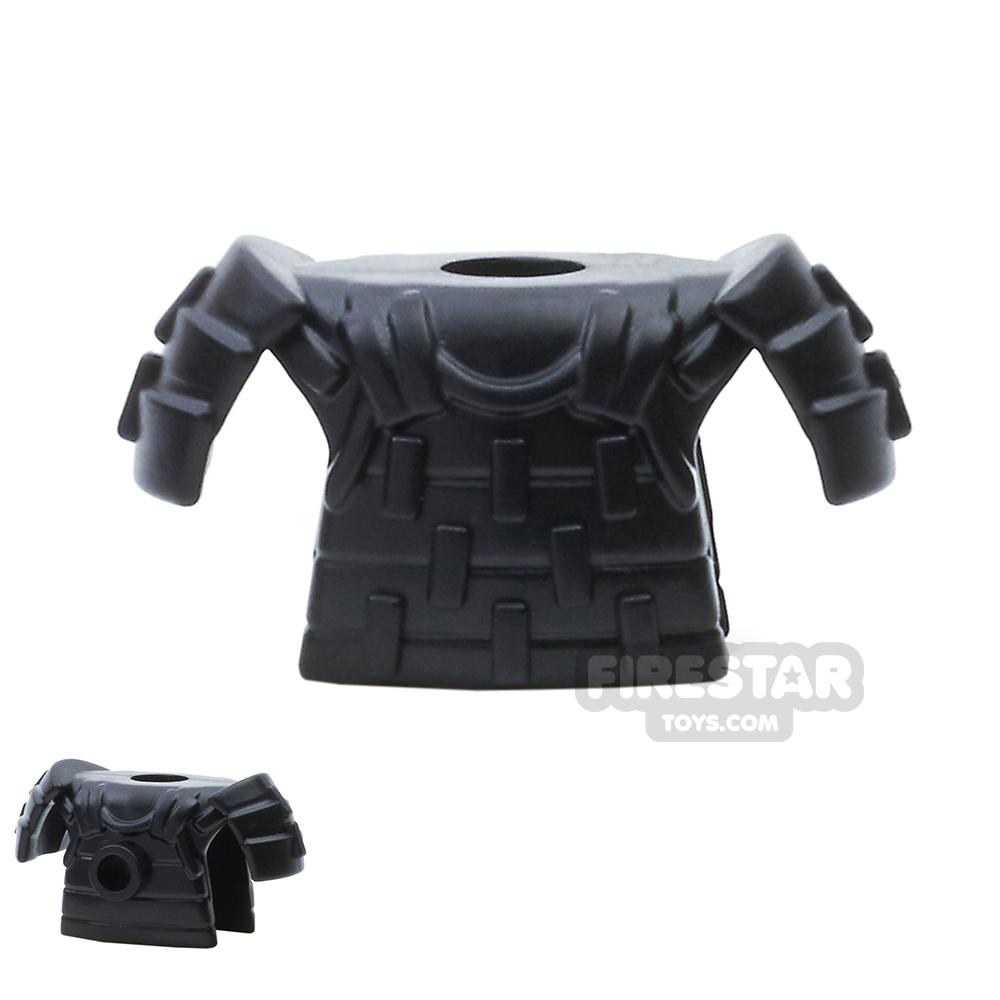 BrickWarriors - Samurai Armour - Black