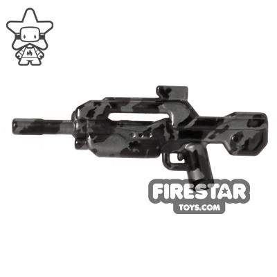Brickarms - XBR4 Battle Rifle 4 - Gunmetal Tiger Camo