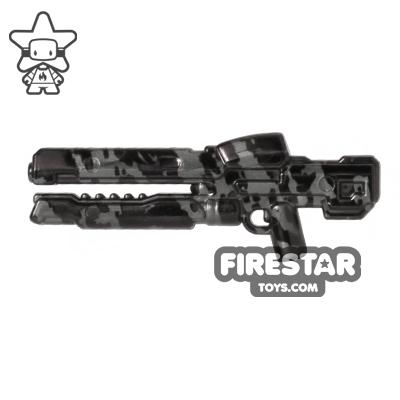 Brickarms - XRG Rail Gun - Gunmetal Tiger Camo