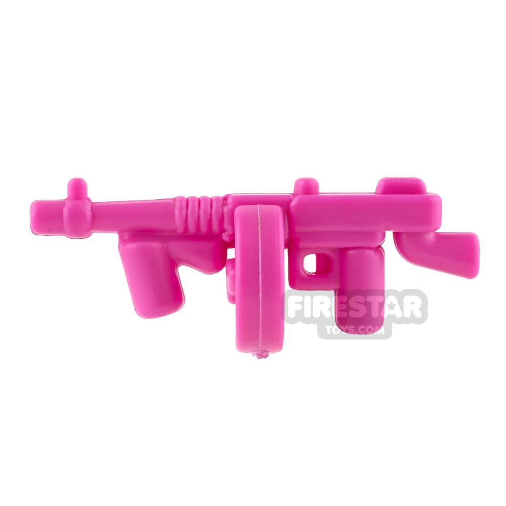 Brickarms - Tommy Gun - Dark Pink