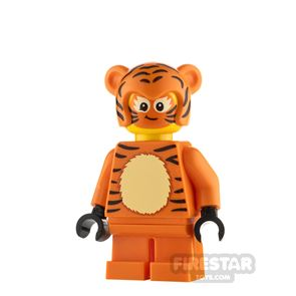 LEGO Minifigure Tiger Girl