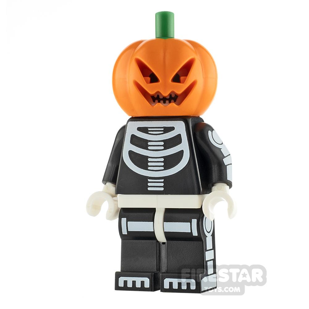 LEGO Minifigure Halloween Pumpkin Costume