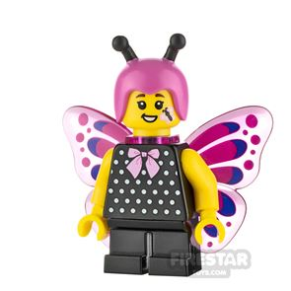 LEGO Minifigure Butterfly Girl