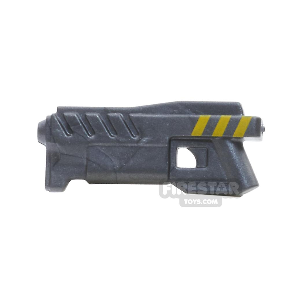 BrickForge - Coilgun - Steel With Yellow Stripes