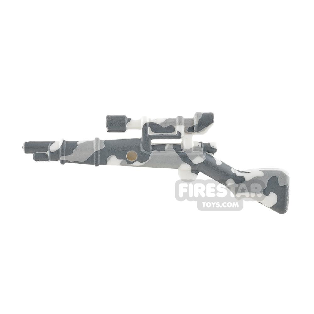 BrickForge - 1903 Springfield Rifle - RIGGED System - White Camo