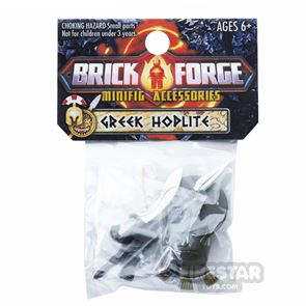 BrickForge Accessory Pack - Greek Hoplite - Heavy Cavalry