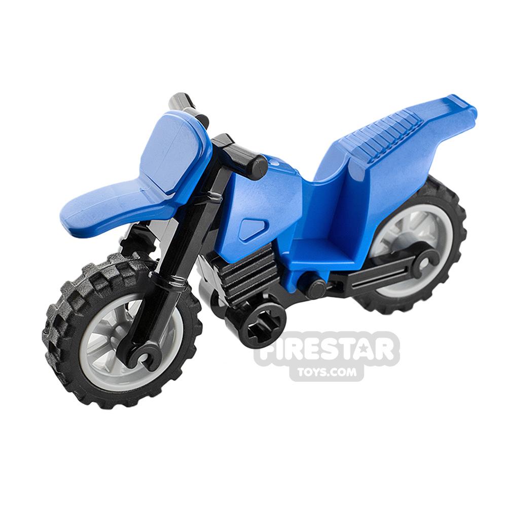 LEGO Dirt Bike Blue and Black