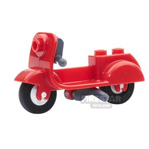 LEGO - Scooter with Stand - Red