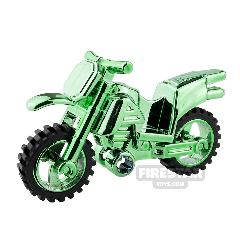 BrickTW - Bike - Chrome Green