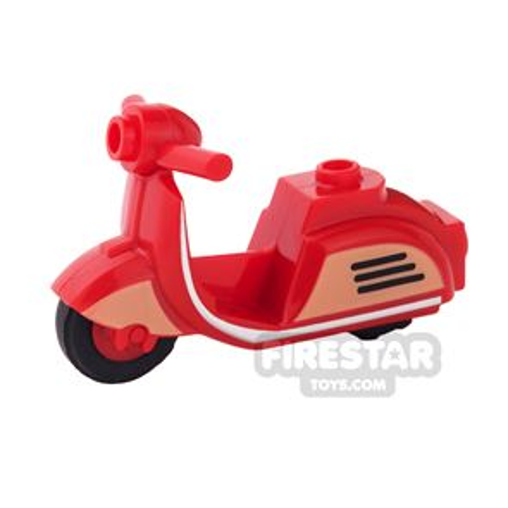 BrickForge - Retro Scooter - Red