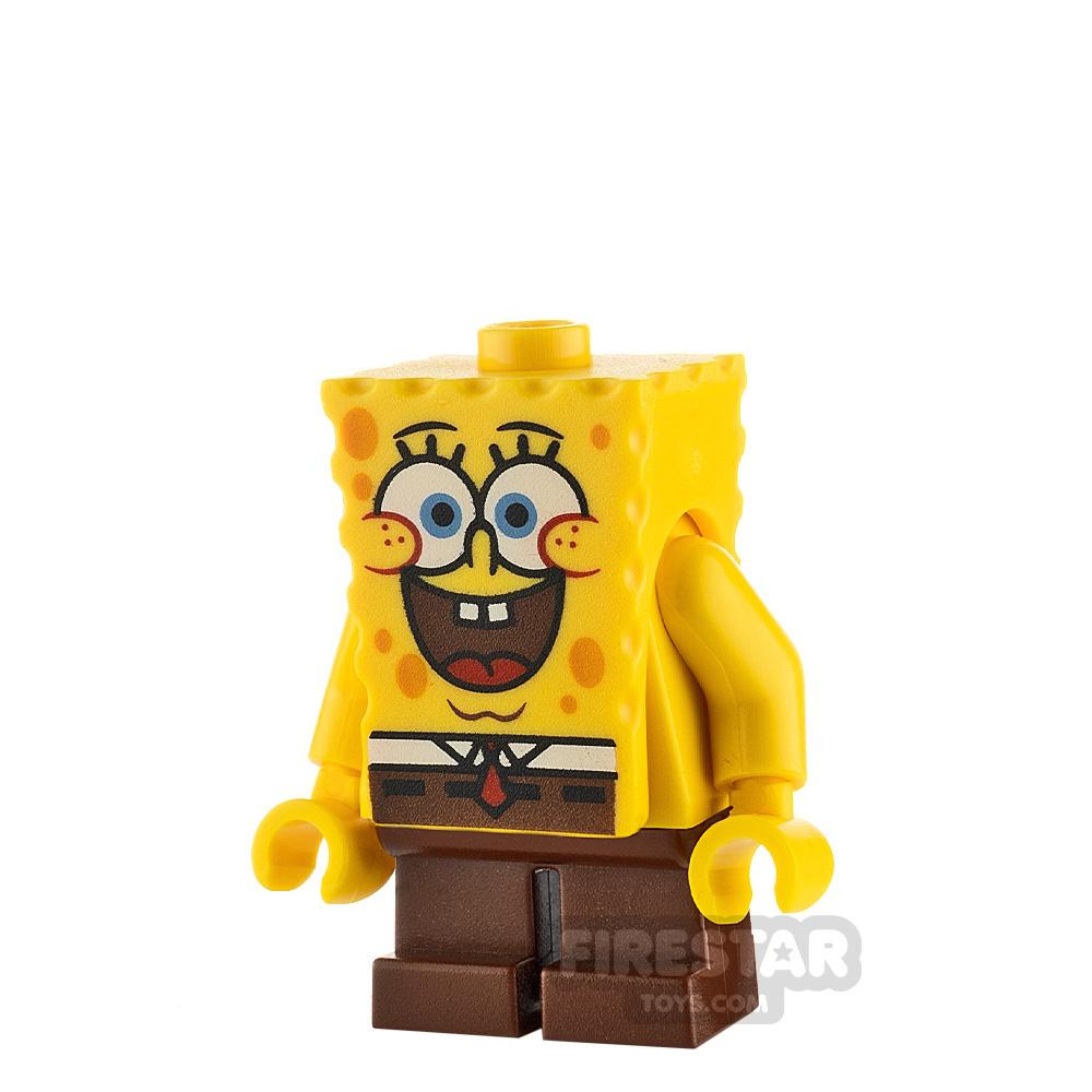 LEGO Spongebob Minifigure Spongebob Large Grin